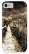 Leaving This Town IPhone Case by Gray  Artus
