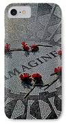 Lennon Memorial IPhone Case by Chris Lord