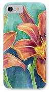 Lilies IPhone Case by Eleonora Perlic