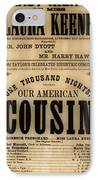 Lincoln Assassination IPhone Case by Andrew Fare