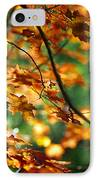 Lost In Leaves IPhone Case by Kathy McClure