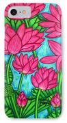 Lotus Bliss IPhone Case by Lisa  Lorenz