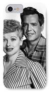 Lucille Ball (1911-1989) IPhone Case by Granger