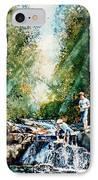 Making Memories IPhone Case by Hanne Lore Koehler
