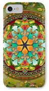 Mandala Evergreen IPhone Case by Bedros Awak