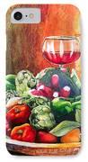 Mediterranean Table IPhone Case by Karen Stark