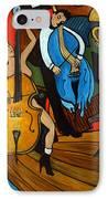 Melting Jazz IPhone Case by Valerie Vescovi