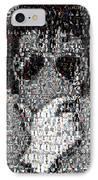 Michael Jackson Glove Montage IPhone Case by Paul Van Scott