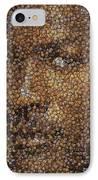 Michael Jordan Money Mosaic IPhone Case by Paul Van Scott