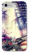 Midsummer Night Dream IPhone Case by Mo T