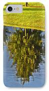Mirroring Trees IPhone Case by Heiko Koehrer-Wagner