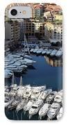 Monaco IPhone Case by Tom Prendergast
