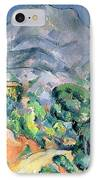 Mont Sainte Victoire IPhone Case by Paul Cezanne
