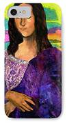Montage Mona Lisa IPhone Case by Laura  Grisham