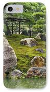 Mossy Japanese Garden IPhone Case by Carol Groenen