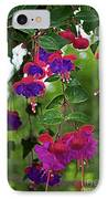 Nan's Fushia IPhone Case by Gwyn Newcombe