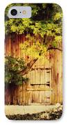 Natures Awning IPhone Case by Julie Hamilton