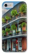 New Orleans House IPhone Case by Inge Johnsson