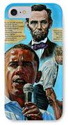 Obamas Heritage IPhone Case by John Lautermilch
