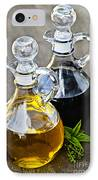 Oil And Vinegar IPhone Case by Elena Elisseeva