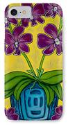 Orchid Delight IPhone Case by Lisa  Lorenz
