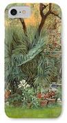 Our Little Garden IPhone Case by Guido Borelli