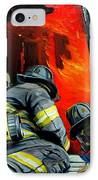 Outside Roof IPhone Case by Paul Walsh