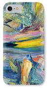 Paint Number 31 IPhone Case by James W Johnson