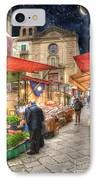 Palermo Market Place IPhone Case by Juli Scalzi