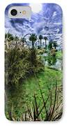 Palm Desert Sky IPhone Case by Blake Richards