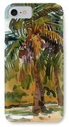 Palms In Key West IPhone Case by Donald Maier
