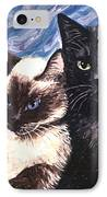 Peaceful Coexistence IPhone Case by Linda Mears