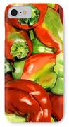 Peppers IPhone Case by Nadi Spencer