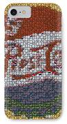 Pepsi Bottle Cap Mosaic IPhone Case by Paul Van Scott