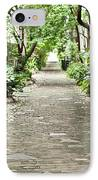 Philadelphia Alley Charleston Pathway IPhone Case by Dustin K Ryan