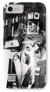 Photograph Of Marilyn IPhone Case by Charles Stuart