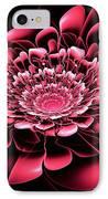 Pink Flower IPhone Case by Anastasiya Malakhova