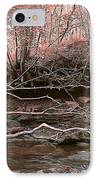 Pink Forest IPhone Case by Svetlana Sewell