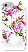 Pink Spring IPhone Case by Marilyn Hunt