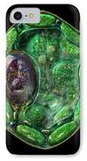 Plant Cell IPhone Case by Russell Kightley