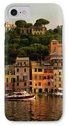Portofino Bay IPhone Case by Neil Buchan-Grant