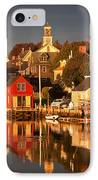 Portsmouth Reflections IPhone Case by Susan Cole Kelly