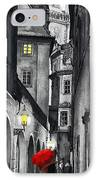 Prague Love Story IPhone Case by Yuriy  Shevchuk