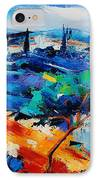 Purple Hills IPhone Case by Elise Palmigiani