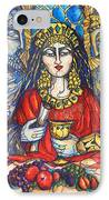 Queen Esther IPhone Case by Rae Chichilnitsky