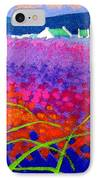 Rainbow Meadow IPhone Case by John  Nolan