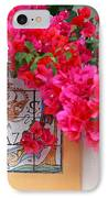 Red Bougainvilleas IPhone Case by Gaspar Avila