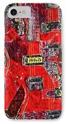 Red Devil IPhone Case by Bill Cannon