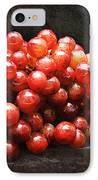 Red Grapes IPhone Case by Andee Design
