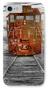 Red Locomotive IPhone Case by James BO  Insogna